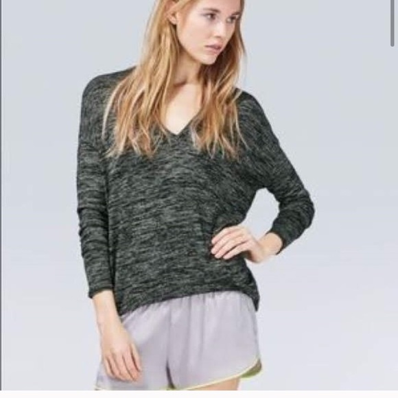 Aritzia Sweaters - Wilfred Free Devinette Sweater Heather Green